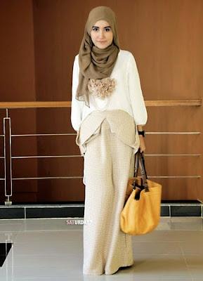 model hijab untuk bekerja