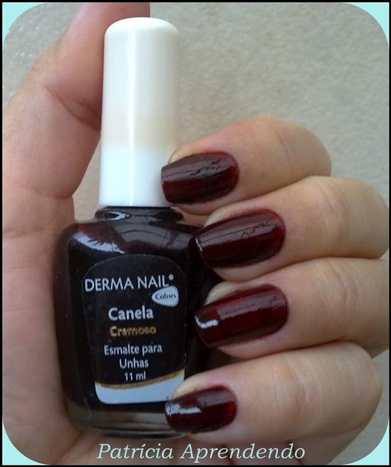 Esmalte Derma Nail Canela