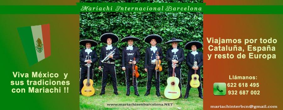 Mariachi Internacional Barcelona 622 618 495  ☆☆☆