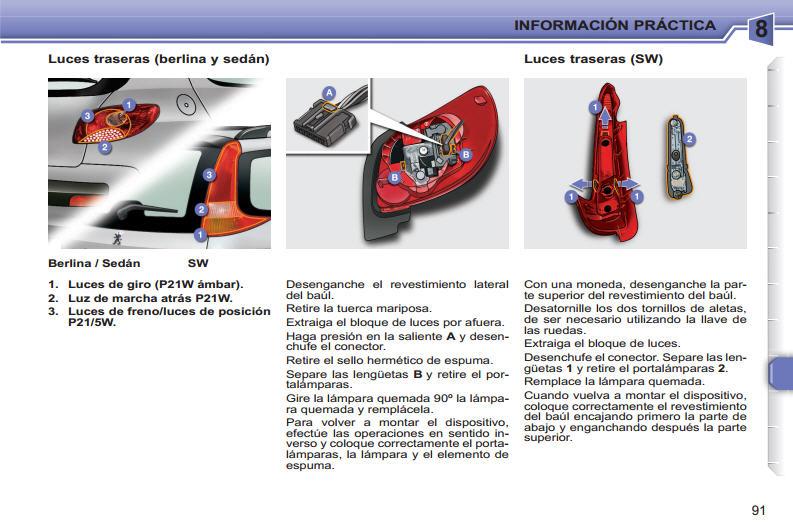 pepopolis 207 compact manual del usuario parte 2 de 3. Black Bedroom Furniture Sets. Home Design Ideas