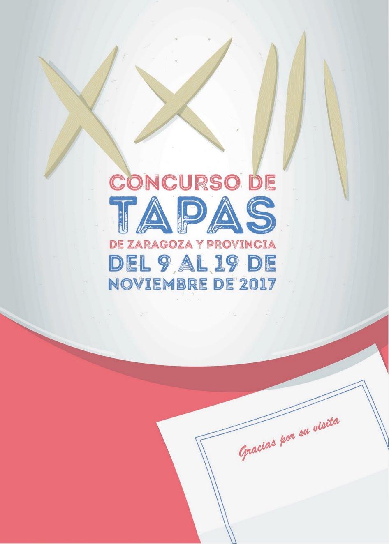 CONCURSO DE TAPAS DE ZARAGOZA Y PROVINCIA