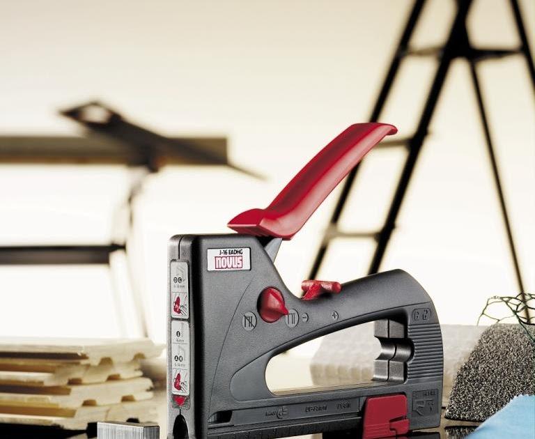 handel7 ug co kg schnell und sicher befestigen mit tackern von novus. Black Bedroom Furniture Sets. Home Design Ideas