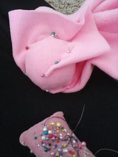 sailor moon odango meatball hair tennis ball pinned with fabric