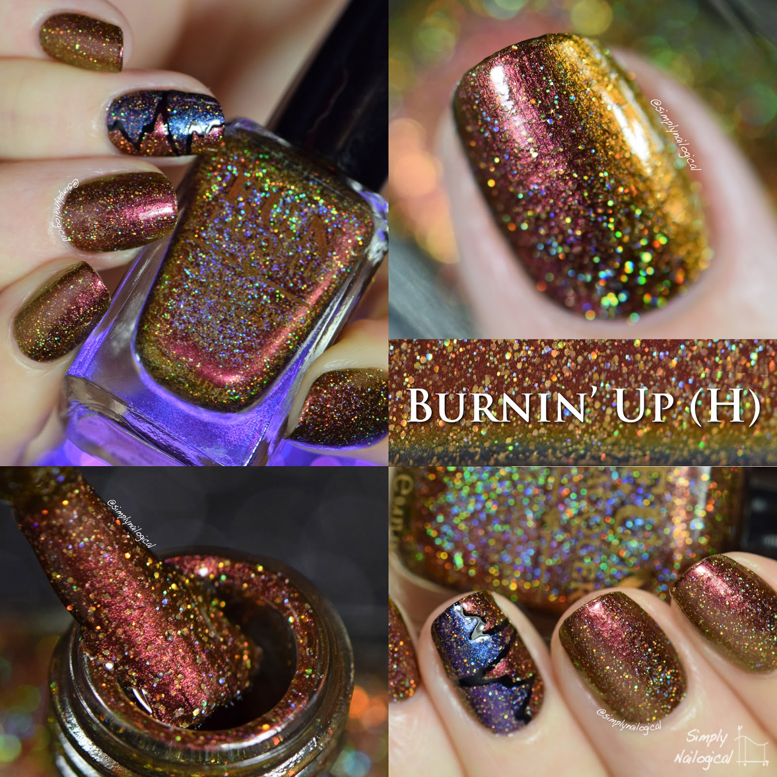 FUN Lacquer Burnin' Up (H) swatch