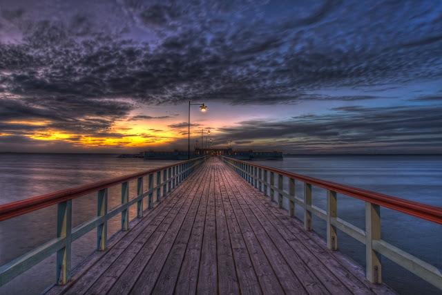 Impresionante Puente en el Playa