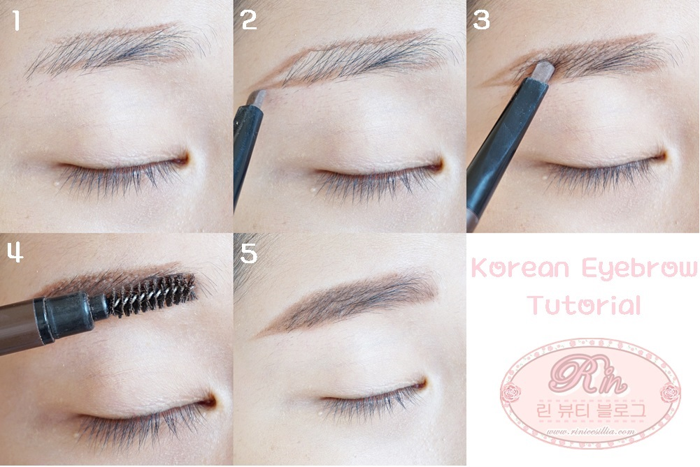 Korean eyebrow