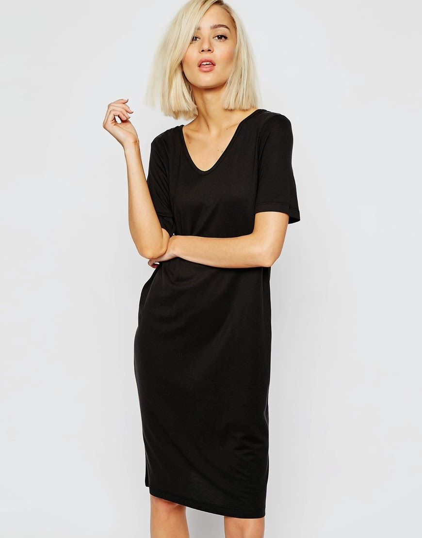 vero moda black dress,