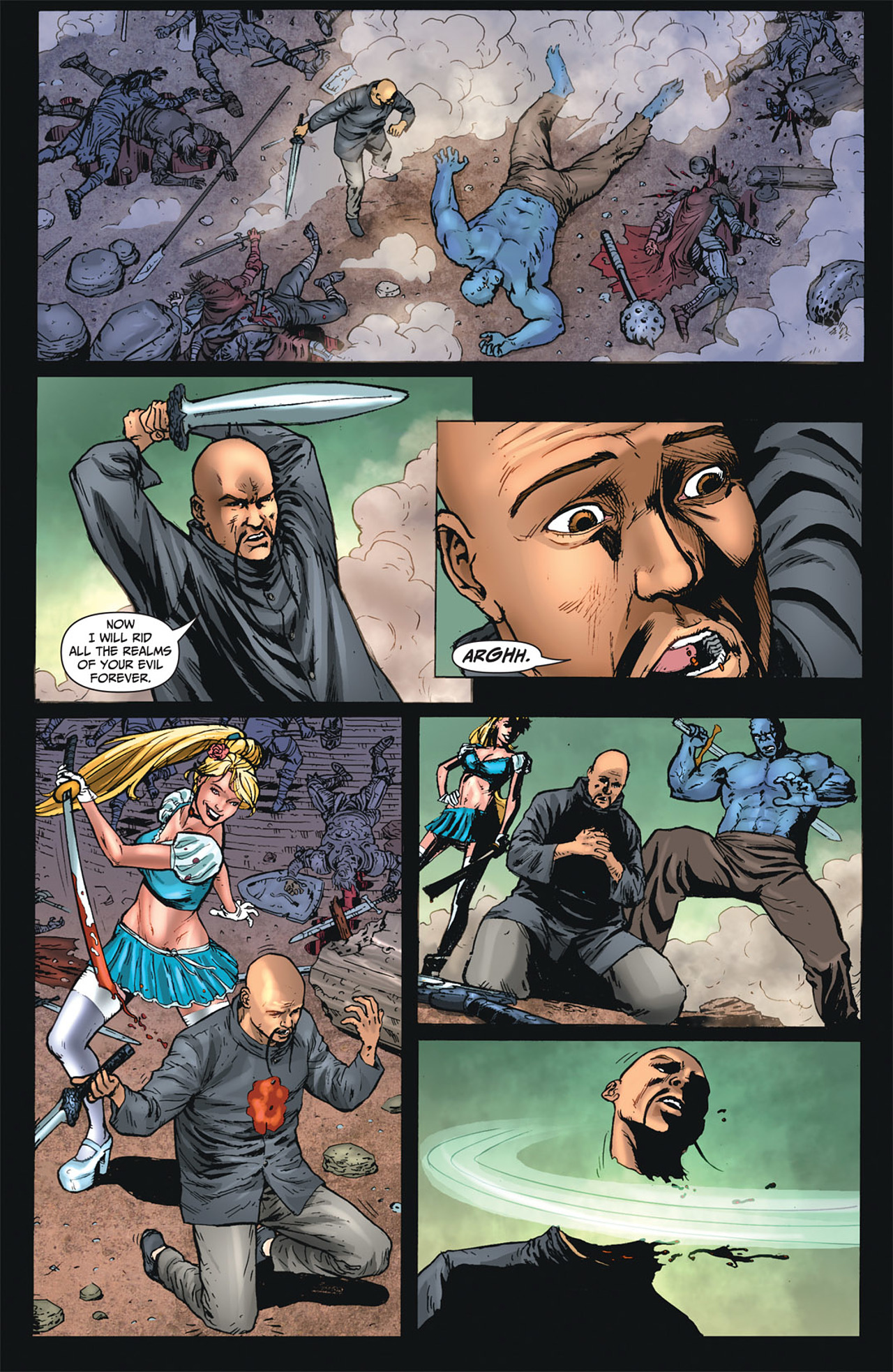 Grimm Fairy Tales (2005) Issue #50 #53 - English 37