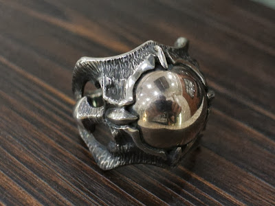 Larmia Ring by Strange Freak Designs