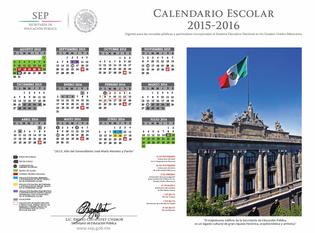 Ver Calendario Escolar 2015-2016