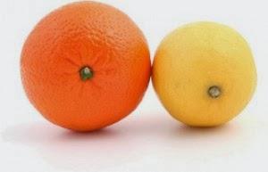 λεμόνι και πορτοκάλι