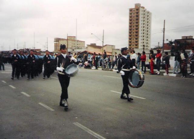 Velhos tempos desfile da GCM de Santo André em 09/1990