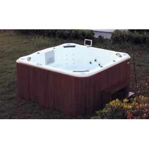 Vasche idromassaggio idromassaggio per giardini e terrazzi - Vasche da esterno prezzi ...