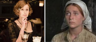 funny downton abbey homely edith versus the Jewish Lucille Ball