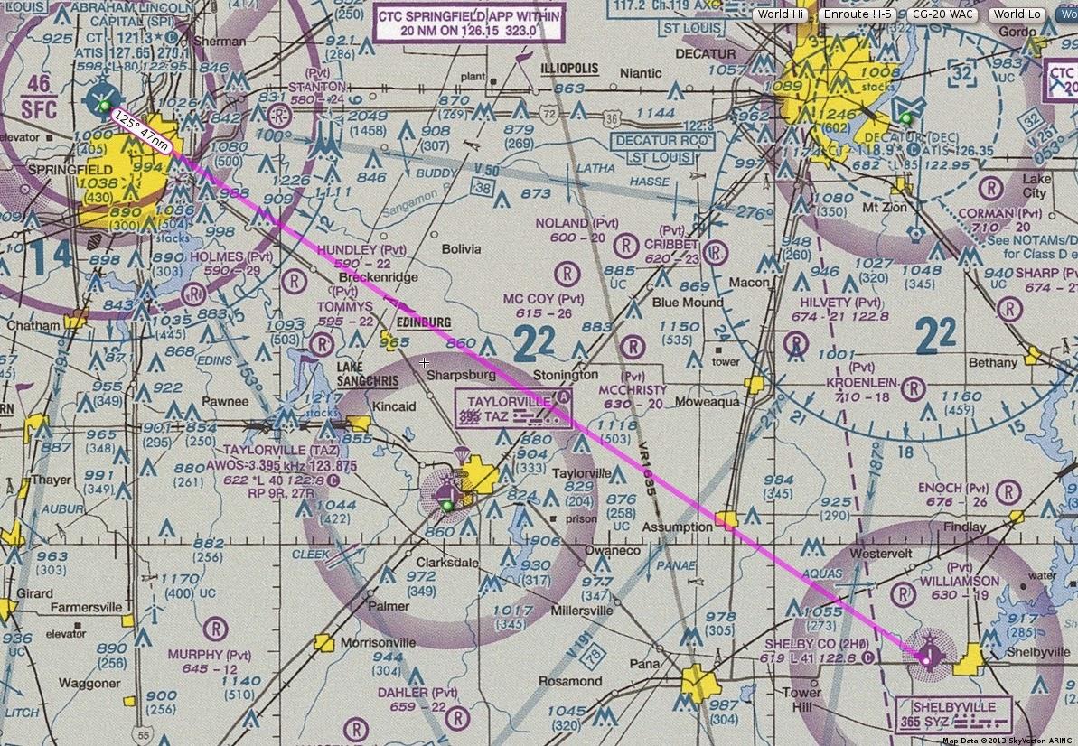 Skyvector flight vfr planning - Click Image To Embiggen