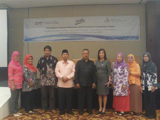 Kakankemenag Tanjungbalai Ikuti Kegiatan Forum Pemangku Kepentingan Sumut