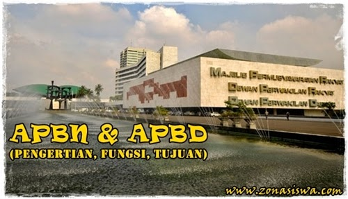 Pengertian APBN dan APBD | www.zonasiswa.com