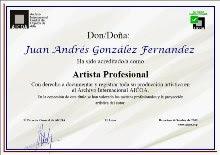 Titulo de Artista Profesional