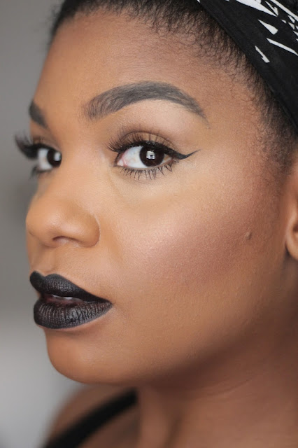 wet n'wild black lipstick pagan angel