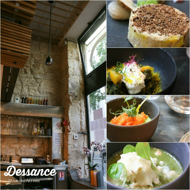Dessance Marais Paris - Ein Restaurant Besuch mit Kindern