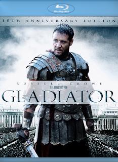 Carátula Gladiador película HD 720p latino