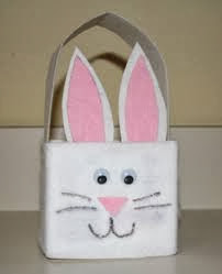 Easter Projects For Toddlers: Pretty Basket 1