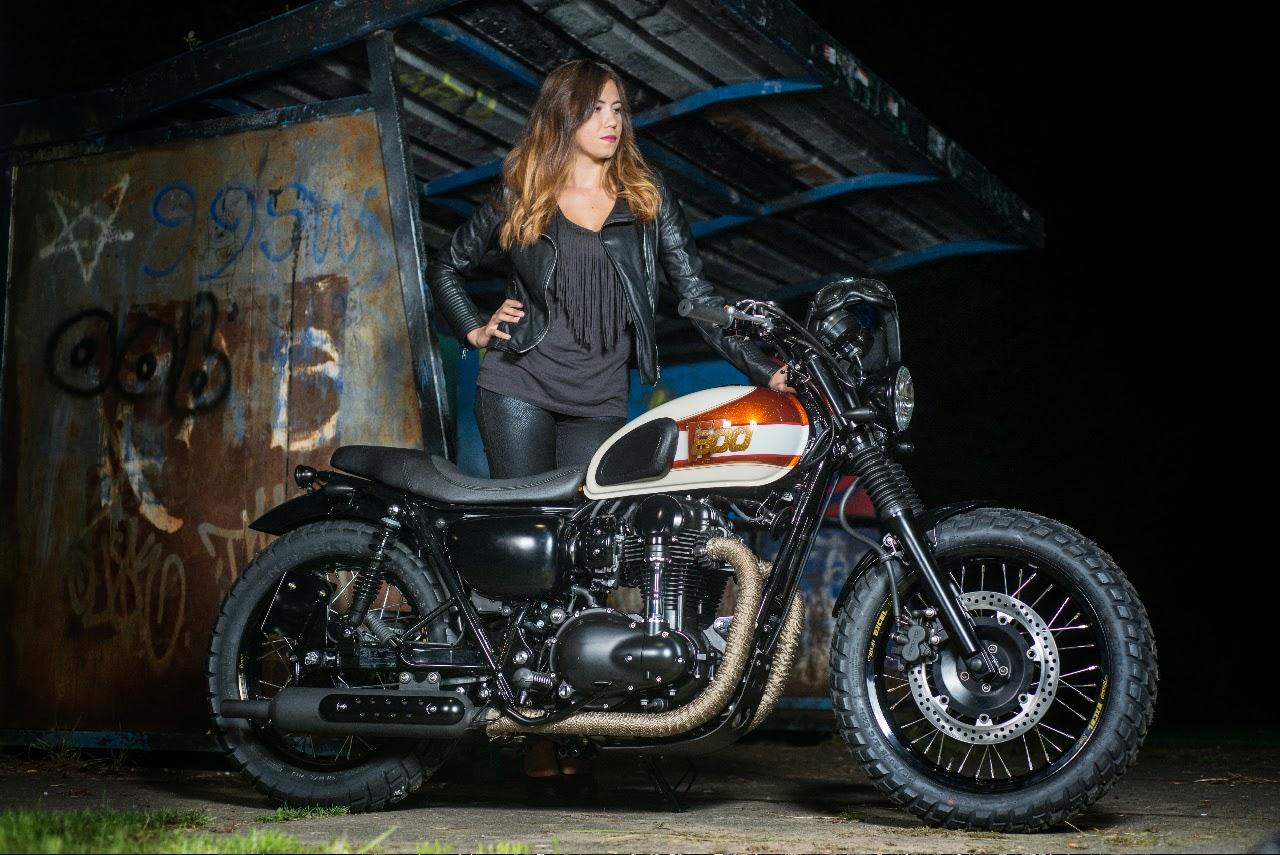 De W800 Is Een Historisch Model Binnen Kawasaki Line Up En Meest Gecustomizede Motor Ooit Het Recentste Exemplaar Komt Van Nederlandse Bodem