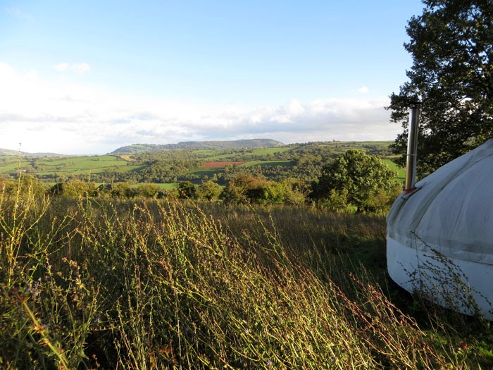 yurt holiday in wales