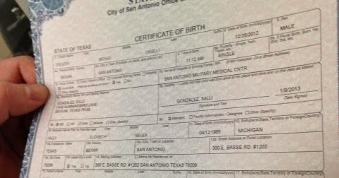 san antonio birth certificate texas |get vital record birth ...