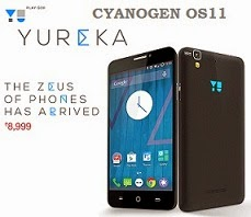 Micromax Yureka Smart Phone with Cyanogen OS11 / 64 -Bit Octa Core Processor for Rs.8999 @ Amazon