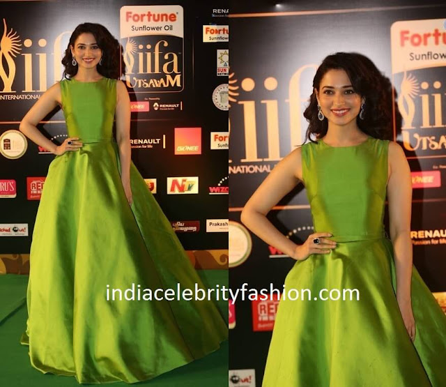 Tamannaah in Gauri and Nainika Gown