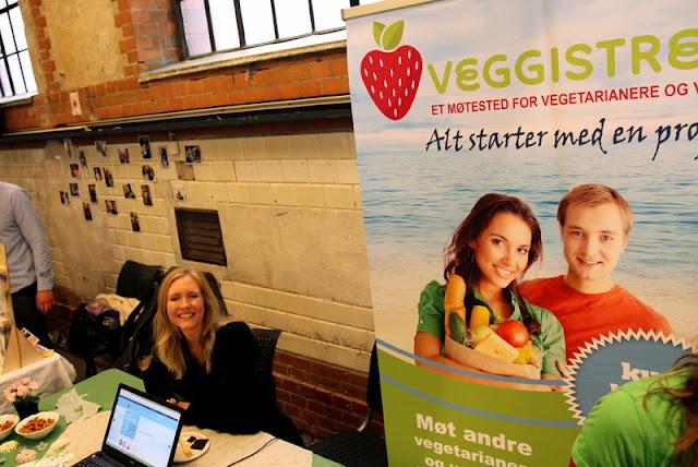 Oslo Vegetarfestival 2015 Veganmisjonen Veganmannen Veggistreff