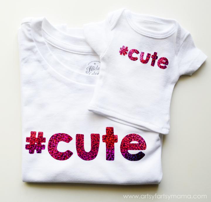 Easy Girl and Doll Matching Shirts at artsyfartsymama.com