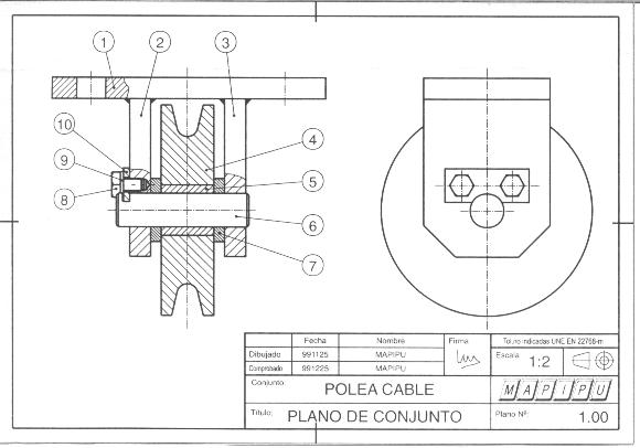 Metrologia trazado e interpretacion de planos for Pie de plano arquitectonico pdf