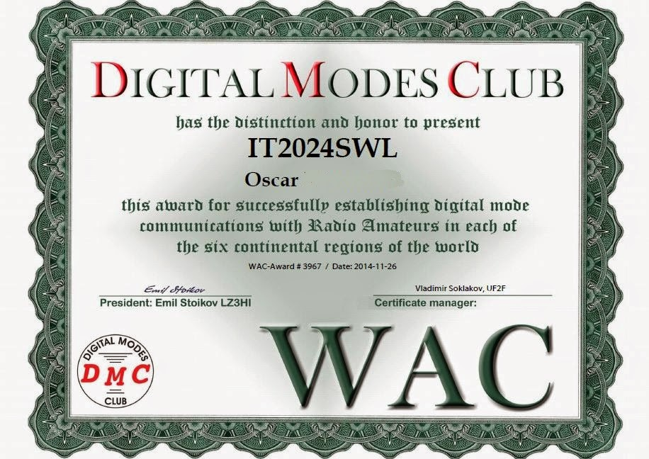 DMC Award All Continents