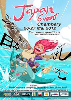 affiche japan event chambery