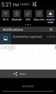 Mengambil Screenshot di Android
