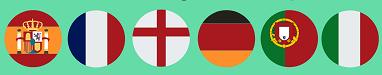 bonos ligas europeas
