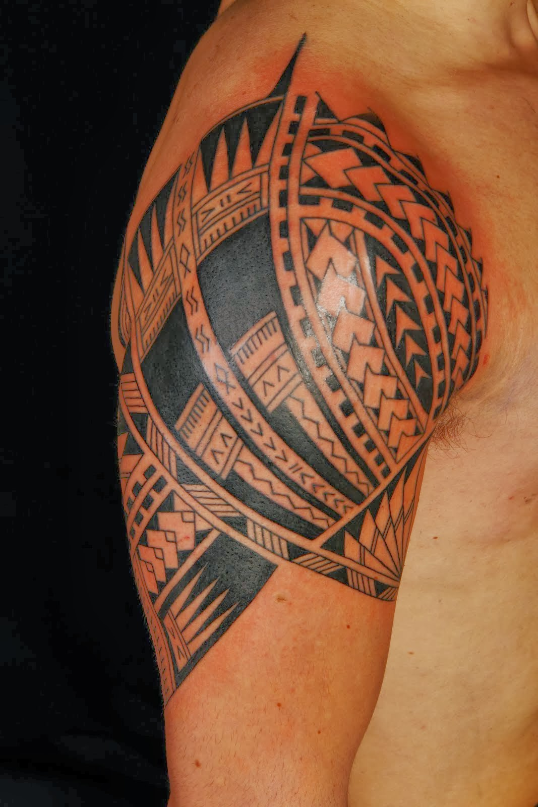 polynesian meanings tattoo tribal design of tattoo requested tattoo is tribal one Polynesian the most