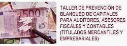 Taller online: Prevención de blanqueo de capitales para auditores, asesores fiscales y contables