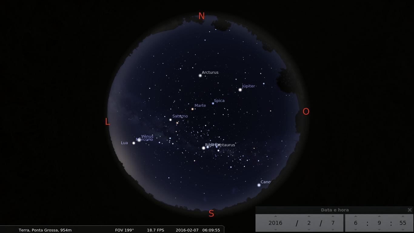 Astronomo: Alinhamento Planetário ocorre no céu em 2016
