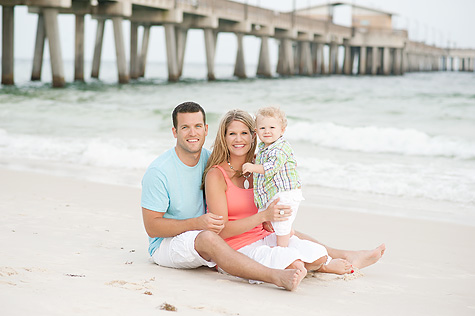 Family Beach Photo Session