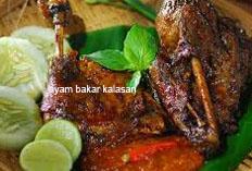 resep masakan indonesia ayam bakar kalasan spesial khas jogja enak, lezat, gurih, praktis, mudah