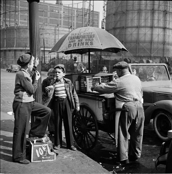 Fotografia de Stanley Kubrick - Nova Iorque - 1940