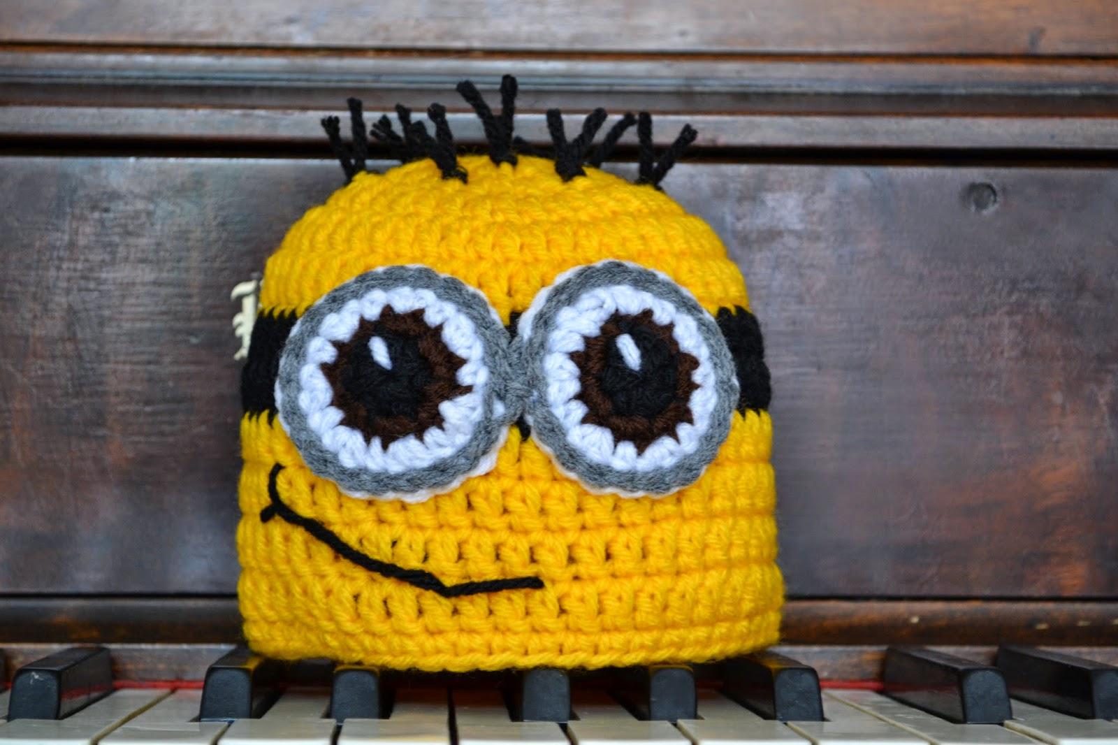 Minion Hat Crochet Pattern Simple Decoration