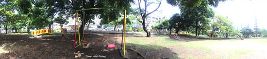 Area permainan anak di Taman melati