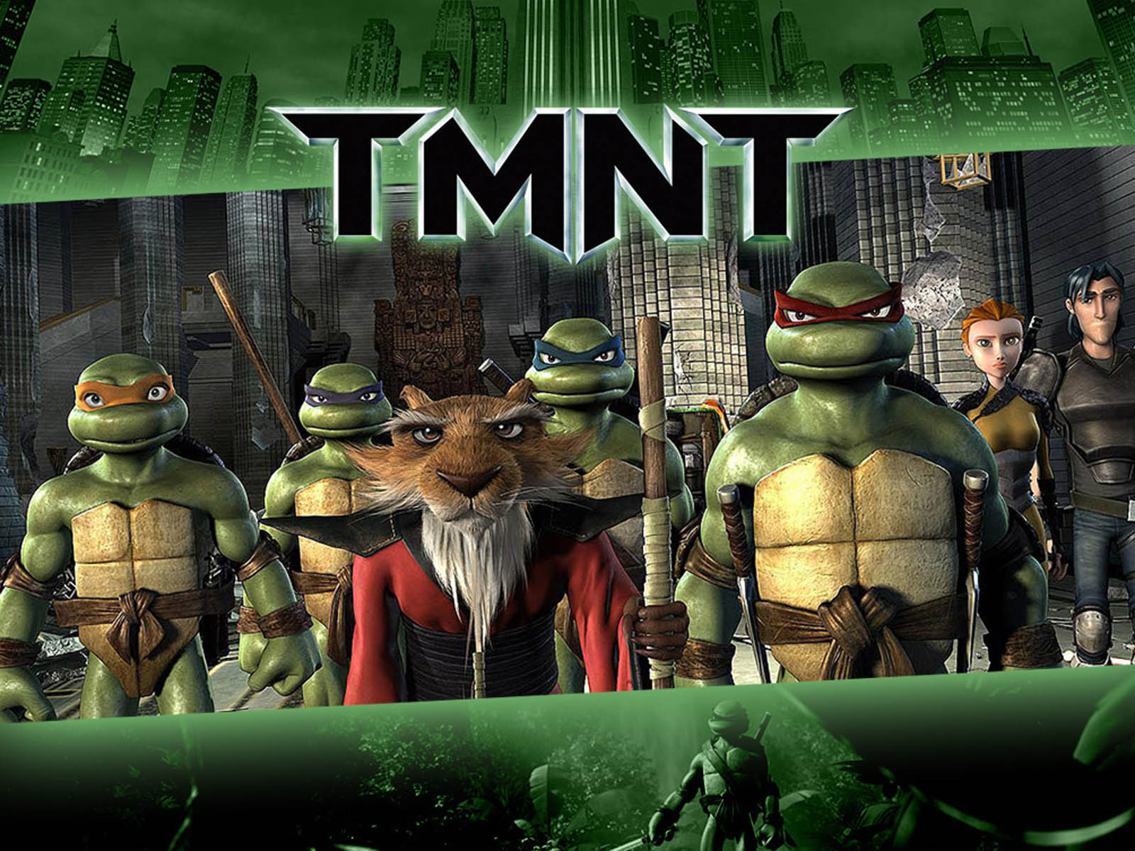 Teenage Mutant Ninja Turtles TMNT WPer Wallpaper
