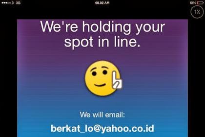 "Cara Melewati ""Waiting List"" Untuk Menggunakan Aplikasi BBM di iPhone"