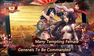Screenshots of the Chaos of Three Kingdoms for Android tablet, phone.