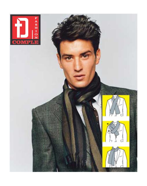 Nhà may Đức Tài - Cách quàng khăn khi kết hợp với áo vest nam 5